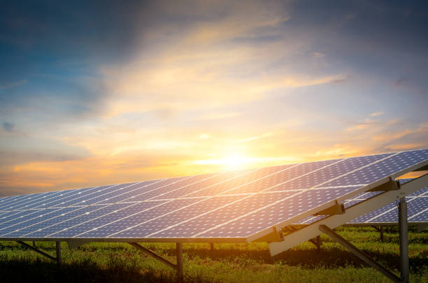 Solarenergie mit Sonne – Foto