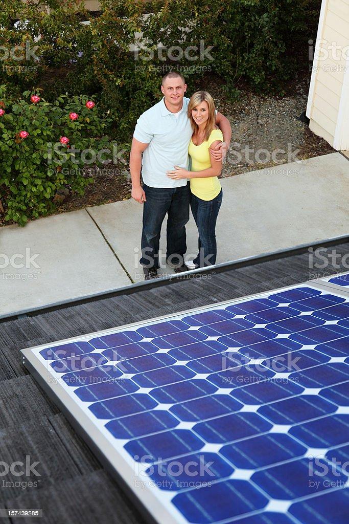 Solar Family stock photo