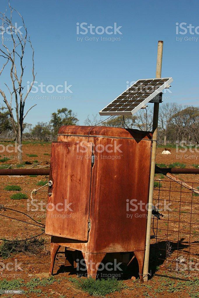 Solar Fridge royalty-free stock photo
