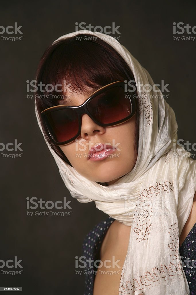Solar glasses royalty-free stock photo