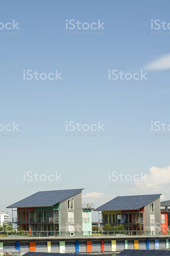 Solar-Häuser – Foto