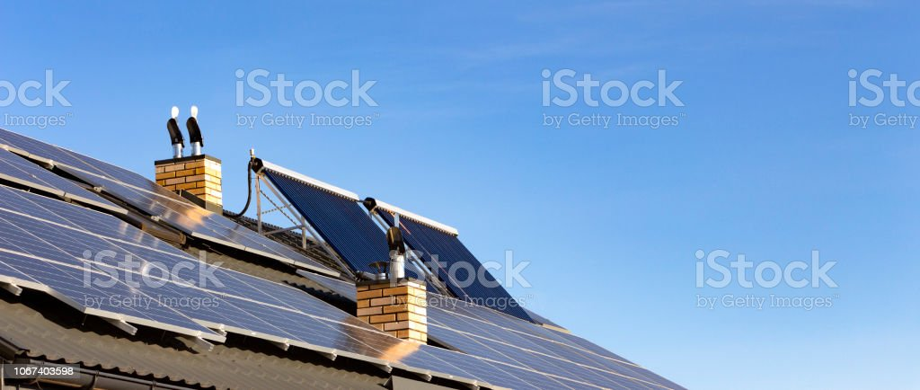Solar installation for the generation of green electricity and water...