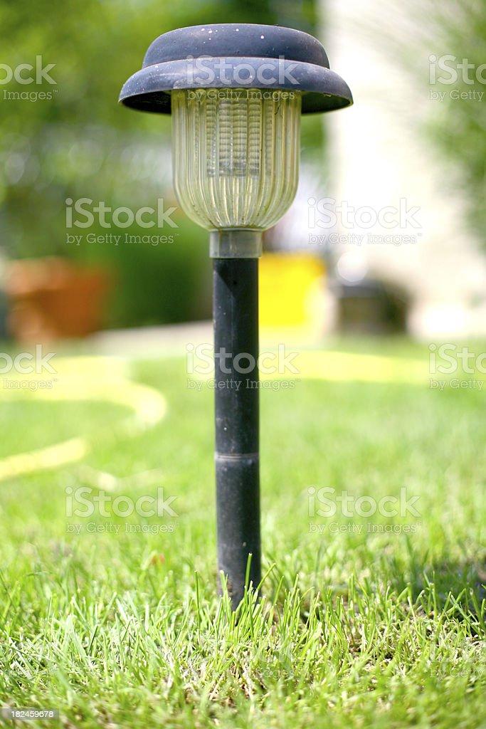 Solar lamp royalty-free stock photo
