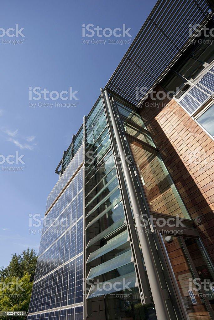 Solar office royalty-free stock photo