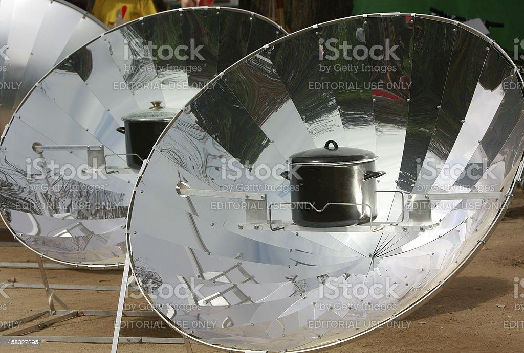 Solar oven stock photo