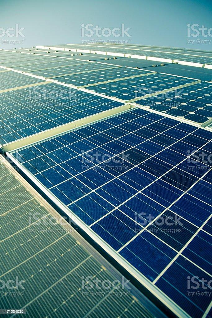 Solar Panel 10 royalty-free stock photo