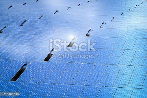 3d rendering solar panel background