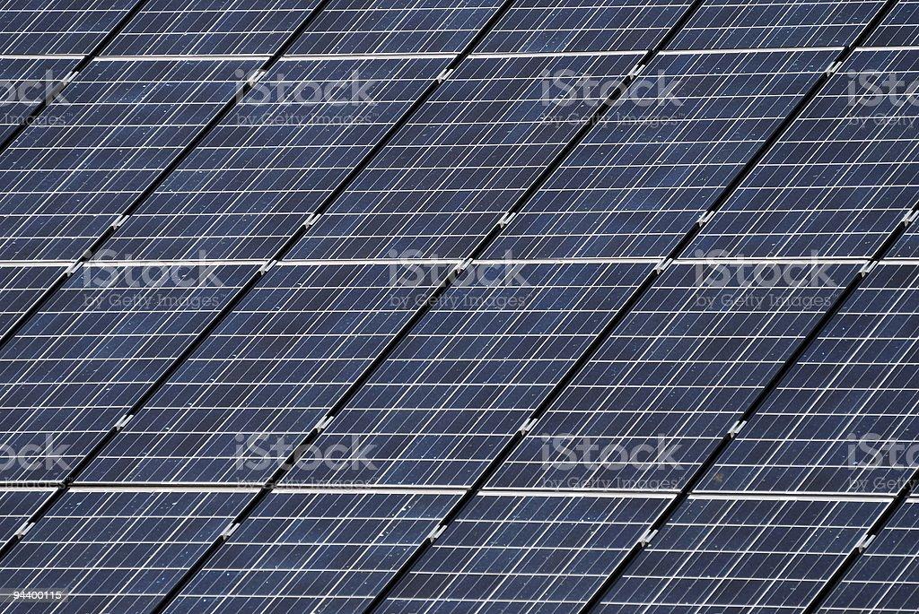Solar panel background royalty-free stock photo