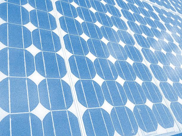 Solar panel cells illustration stock photo