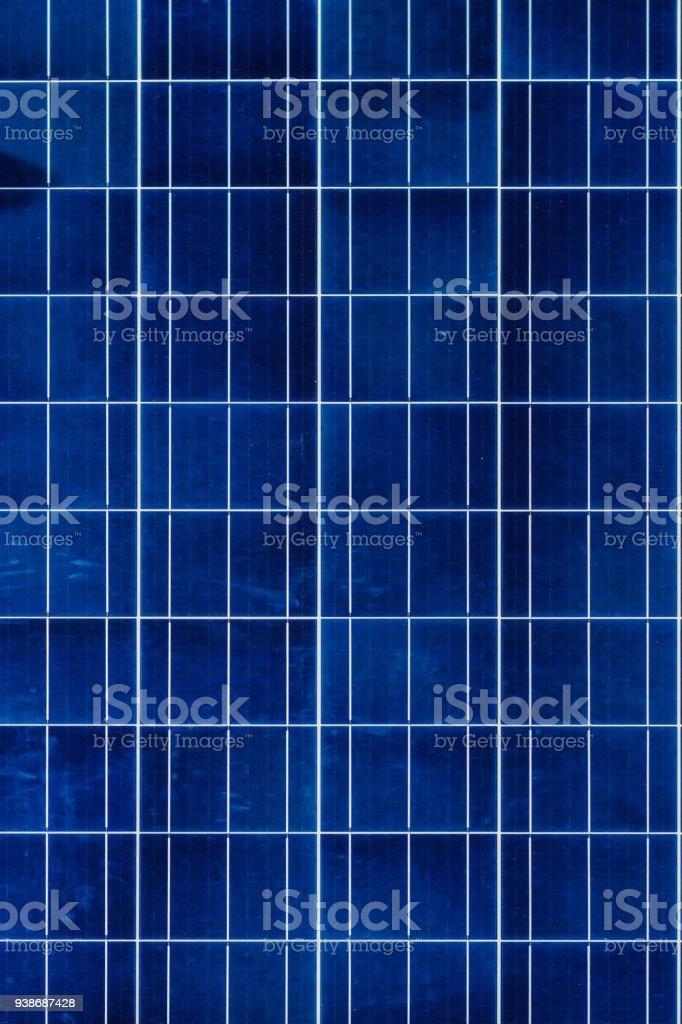Solar panel close-up. Alternative energy sources. stock photo