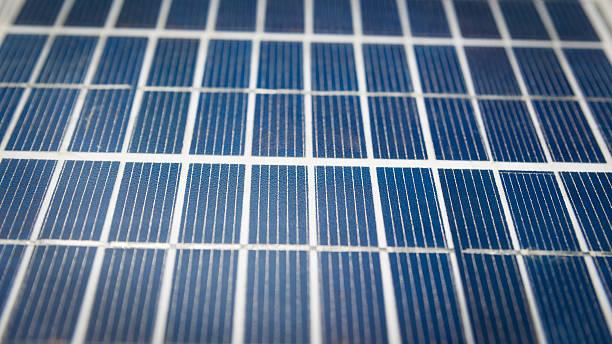 Solar-panel, Nahaufnahme – Foto