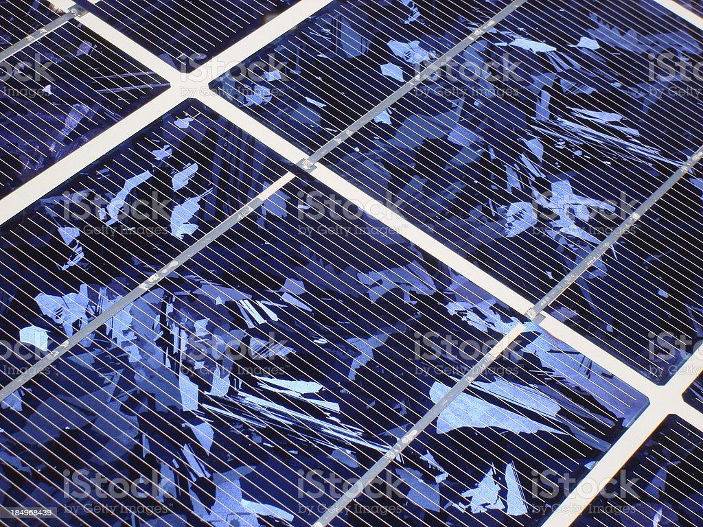 Solar Panel Detail II stock photo