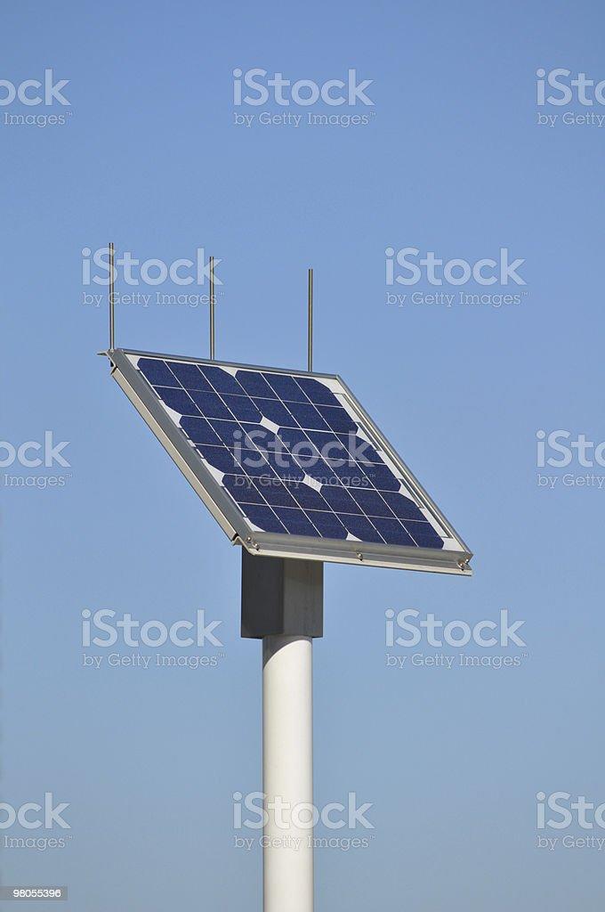 Solar panel detail royalty-free stock photo