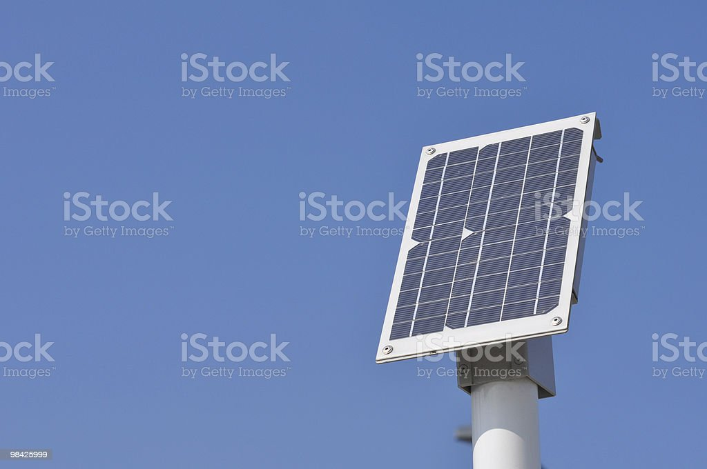 Solar panel detail royalty-free stock photo