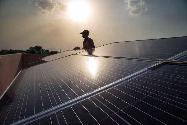 Best Solar Panel India Stock Photos, Pictures & Royalty-Free