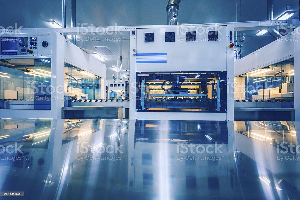 Panneau solaire de production - Photo