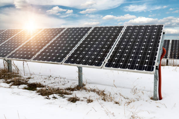 Solar panel, Photovoltaik, alternative Stromquelle - selektiven Fokus, Textfreiraum – Foto