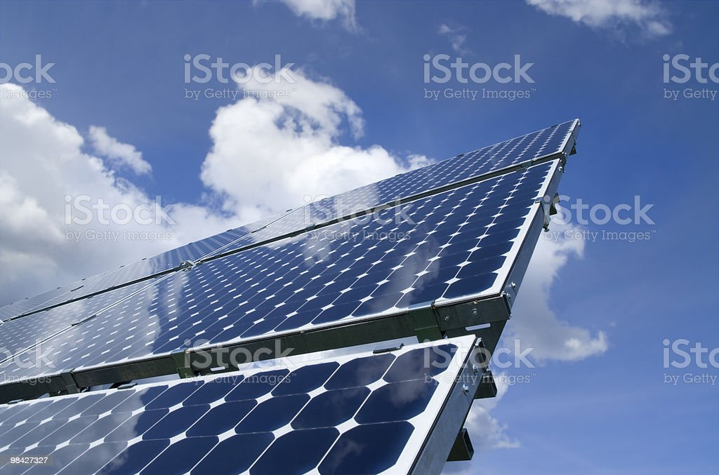 Solar Panel - Photovoltaic cells royalty-free stock photo