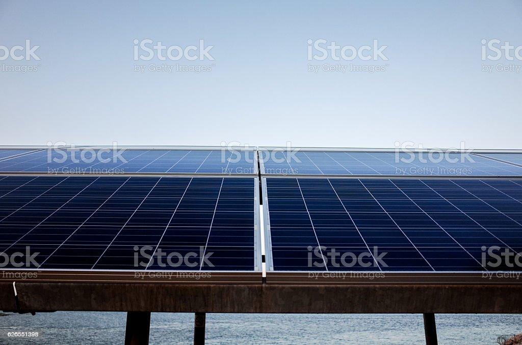 solar panel, stock photo