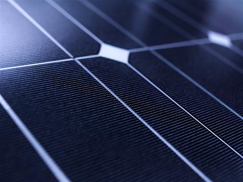 Full frame solar panel