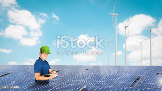 istock solar panel technician 641137436