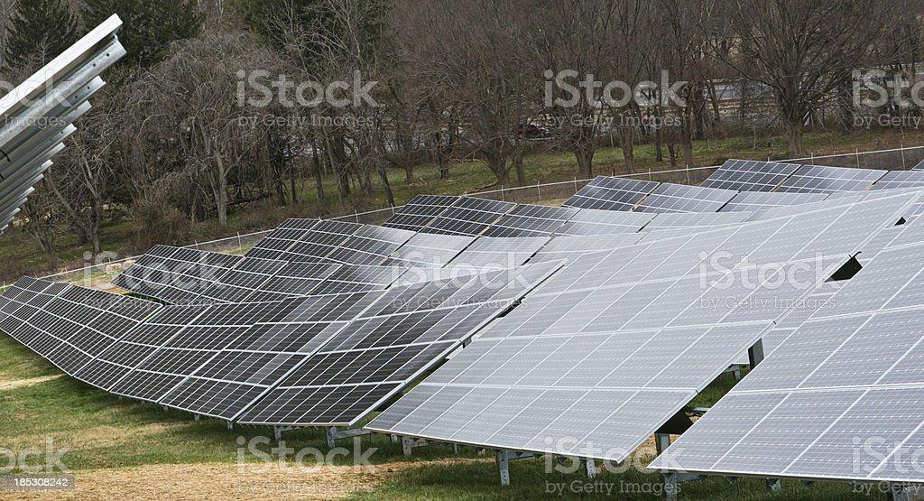 Solar Panels for Alternative Energy royalty-free stock photo