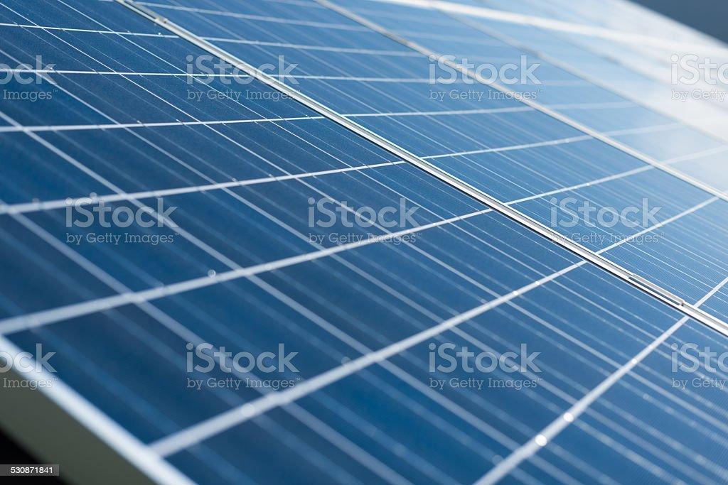 solar panels full frame picture stock photo