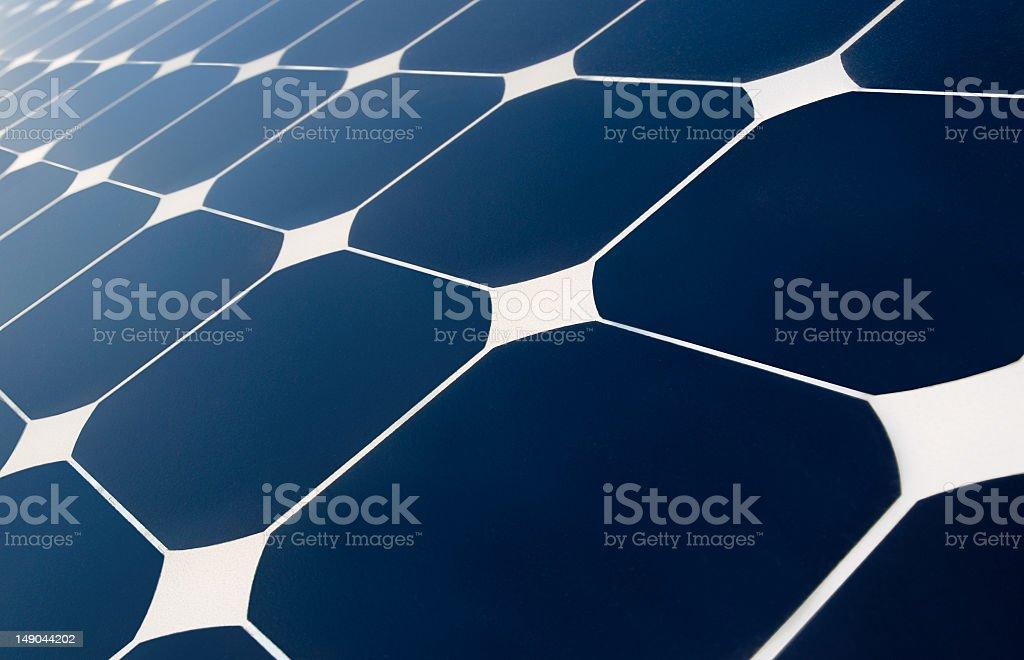 solar panel's geometry stock photo