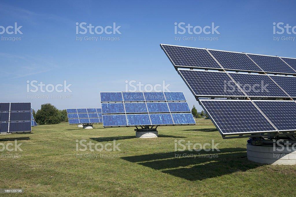 Solarkollektoren in Adlershof – Foto
