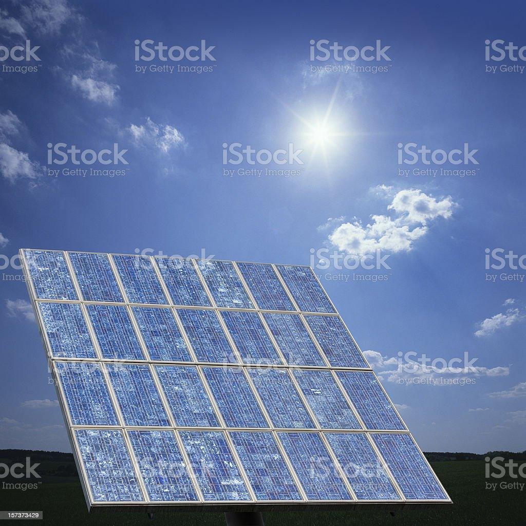 Solar panels (image size XXL) royalty-free stock photo