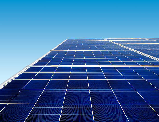 Solar panels Solar panels are continuing to be the main source of renewable energy across the globe whakarewarewa stock pictures, royalty-free photos & images