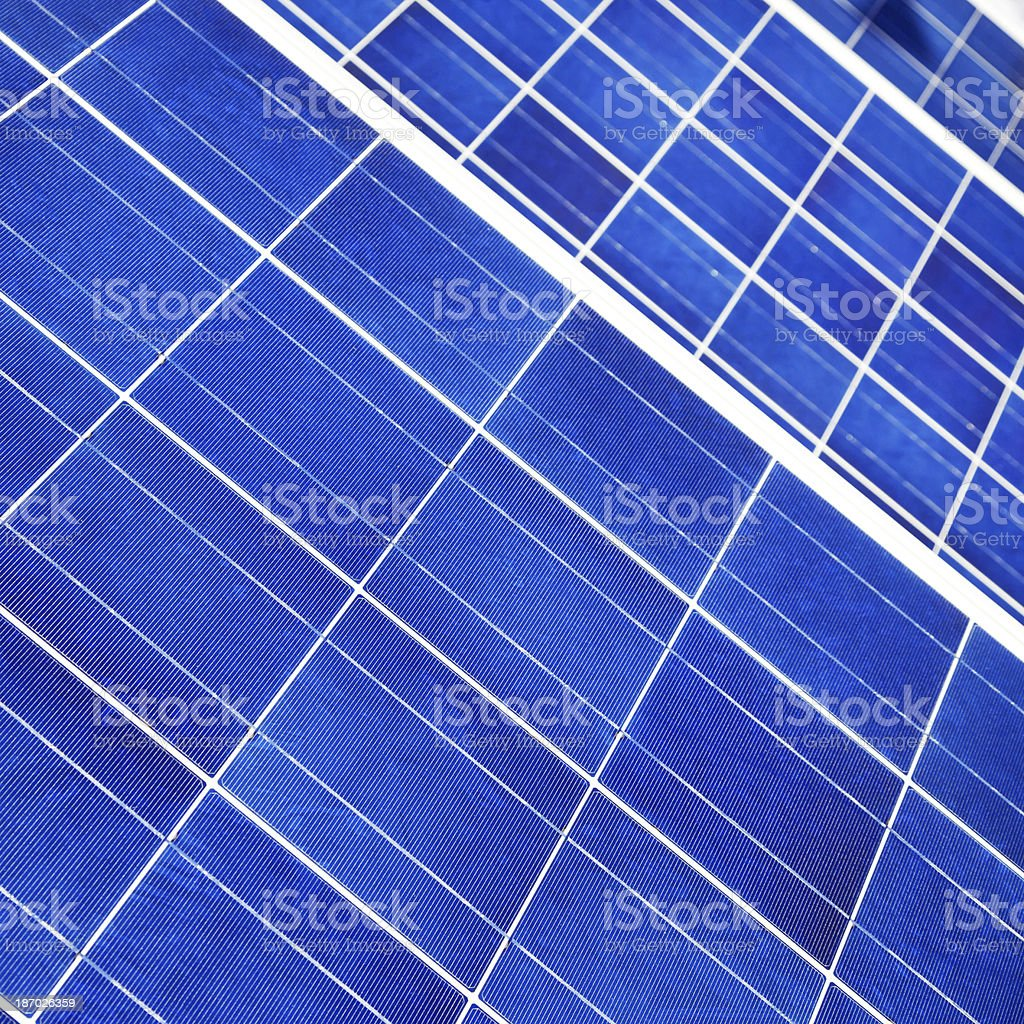Solar panels # 17 royalty-free stock photo