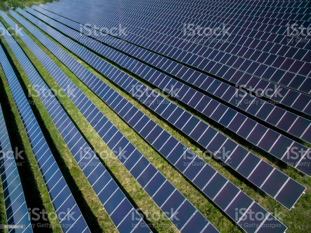 Solar panels photo libre de droits