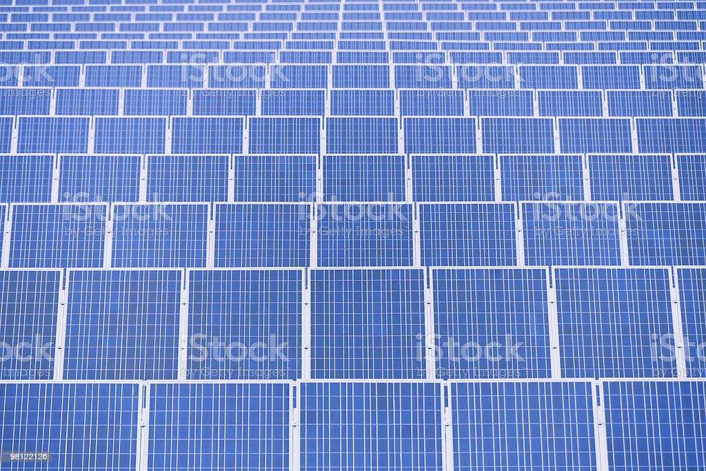 Pannelli solari foto stock royalty-free
