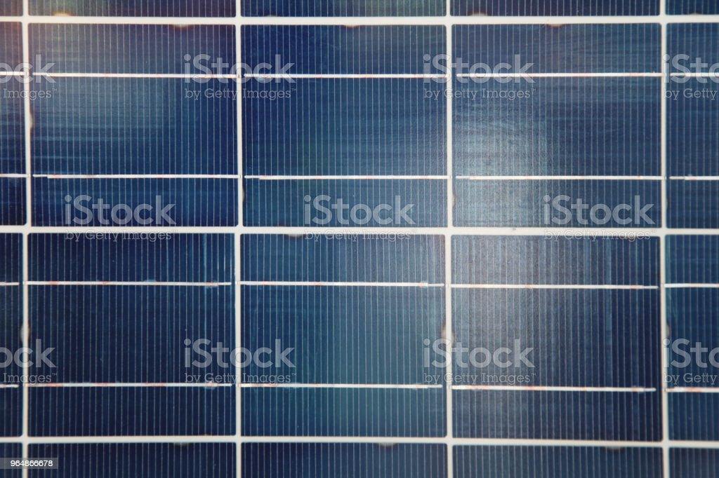 太陽能板可再生能源背景 - 免版稅乾淨圖庫照片