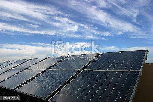 Solar Panels Renewable Energy Stock Photo & More Pictures of Alternative Energy