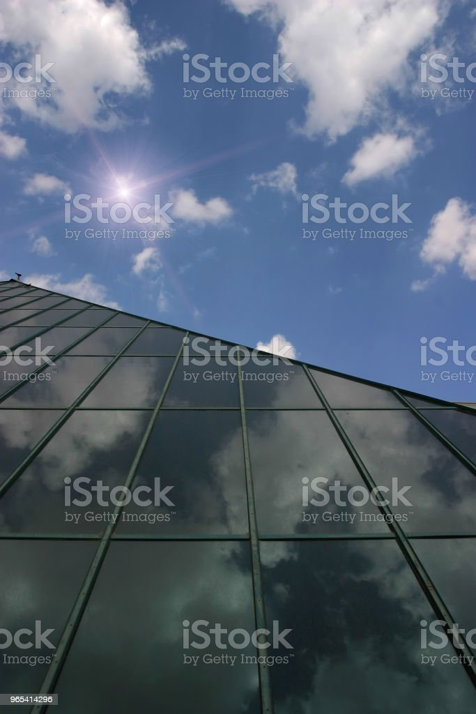 Solar panels renewable energy royalty-free stock photo