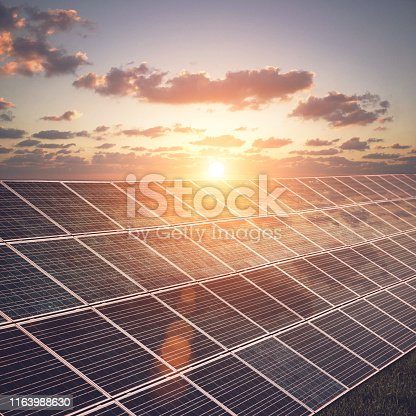 Solar panels renewable energy sustainable resources