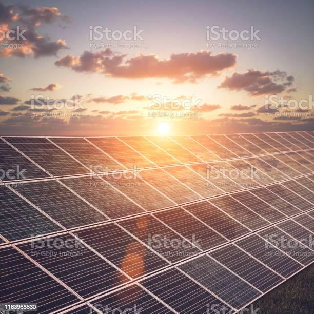 Photo of Solar panels renewable energy sustainable resources