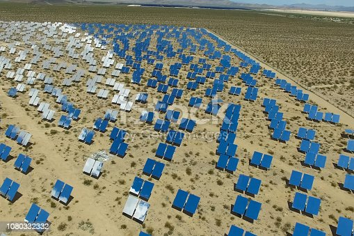 istock Solar panels. Solar energy An alternative source of energy is so 1080332332