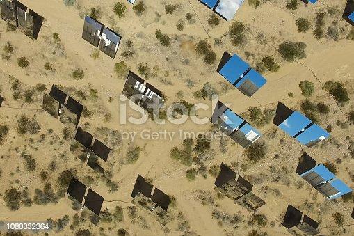istock Solar panels. Solar energy An alternative source of energy is so 1080332364