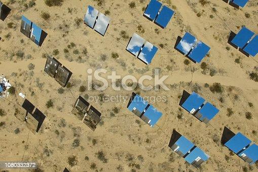istock Solar panels. Solar energy An alternative source of energy is so 1080332372