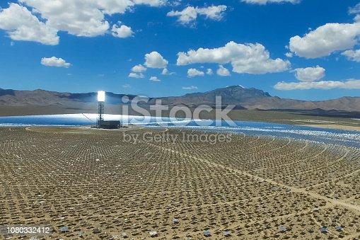 istock Solar panels. Solar energy An alternative source of energy is so 1080332412