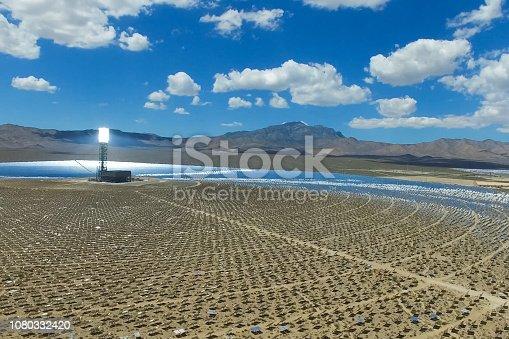 istock Solar panels. Solar energy An alternative source of energy is so 1080332420