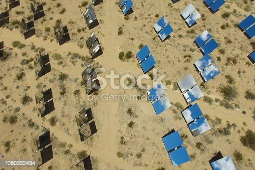 istock Solar panels. Solar energy An alternative source of energy is so 1080332434