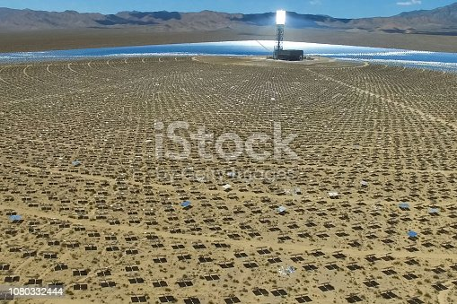 istock Solar panels. Solar energy An alternative source of energy is so 1080332444