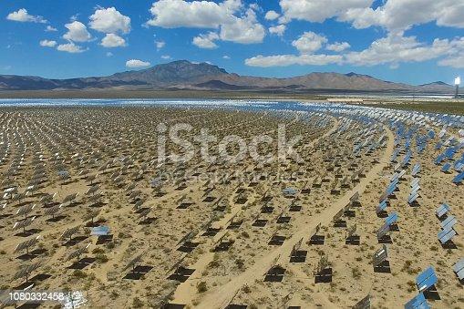 istock Solar panels. Solar energy An alternative source of energy is so 1080332458