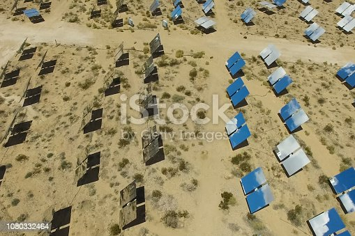 istock Solar panels. Solar energy An alternative source of energy is so 1080332464