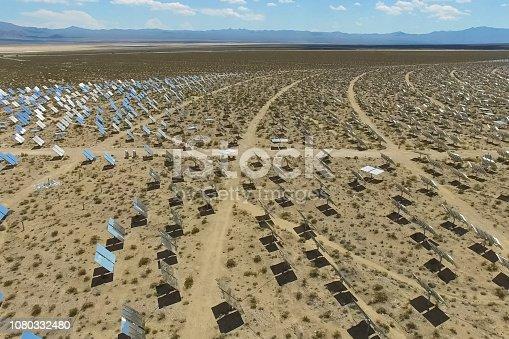 istock Solar panels. Solar energy An alternative source of energy is so 1080332480