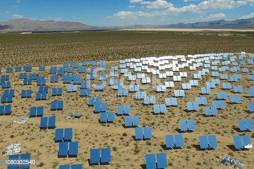 istock Solar panels. Solar energy An alternative source of energy is so 1080332540